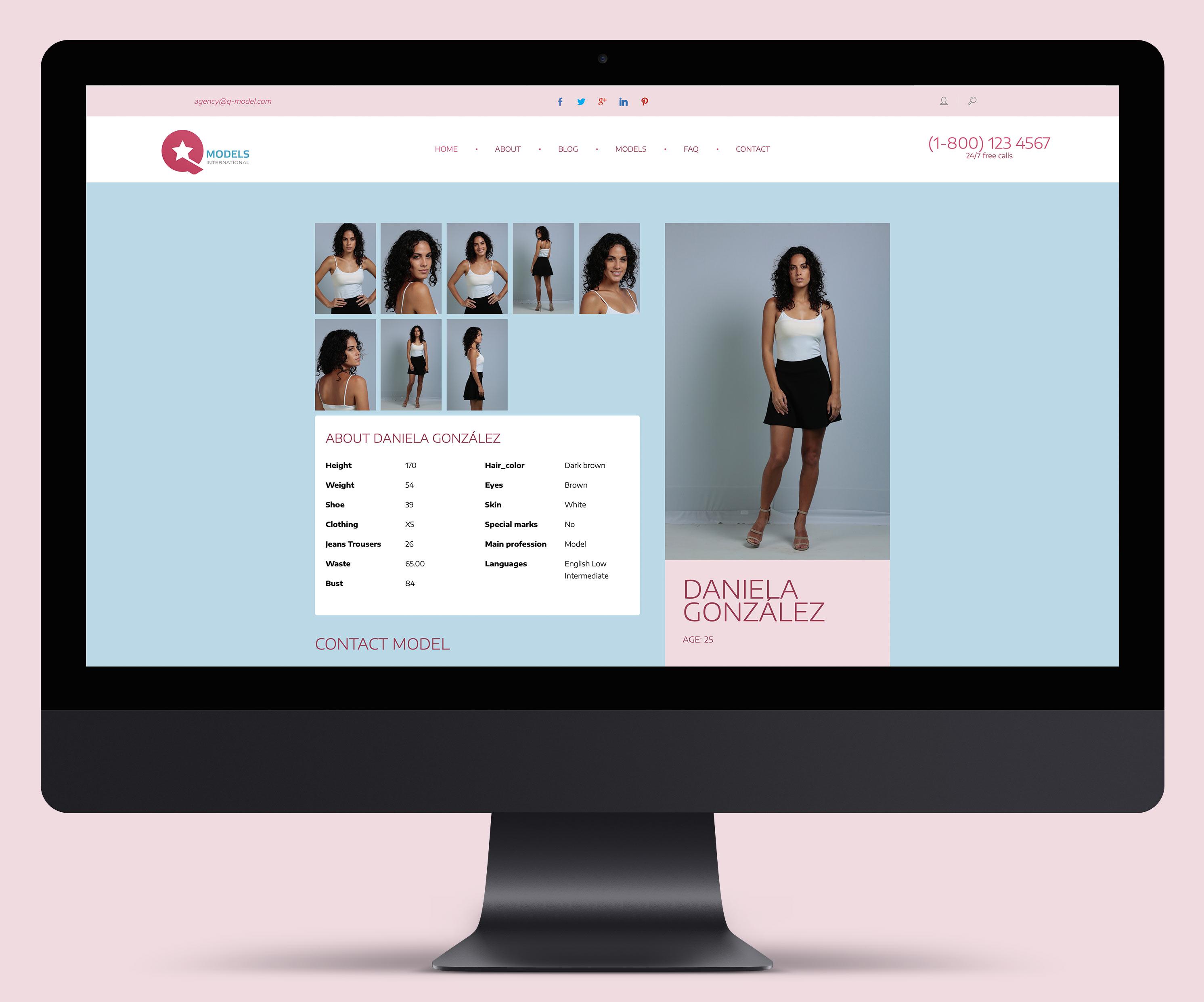 Сайт QModel